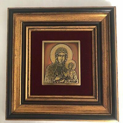 Rare limited edition art by Vassil Ekimov, 1975-1977. Metal etching icon.