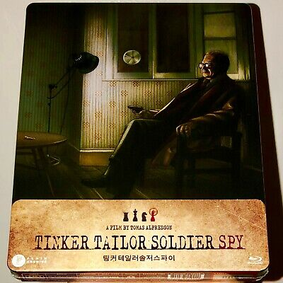 PLAIN ARCHIVE TINKER TAILOR SOLDIER SPY STEELBOOK 1/4 SLIP BLU-RAY NEW
