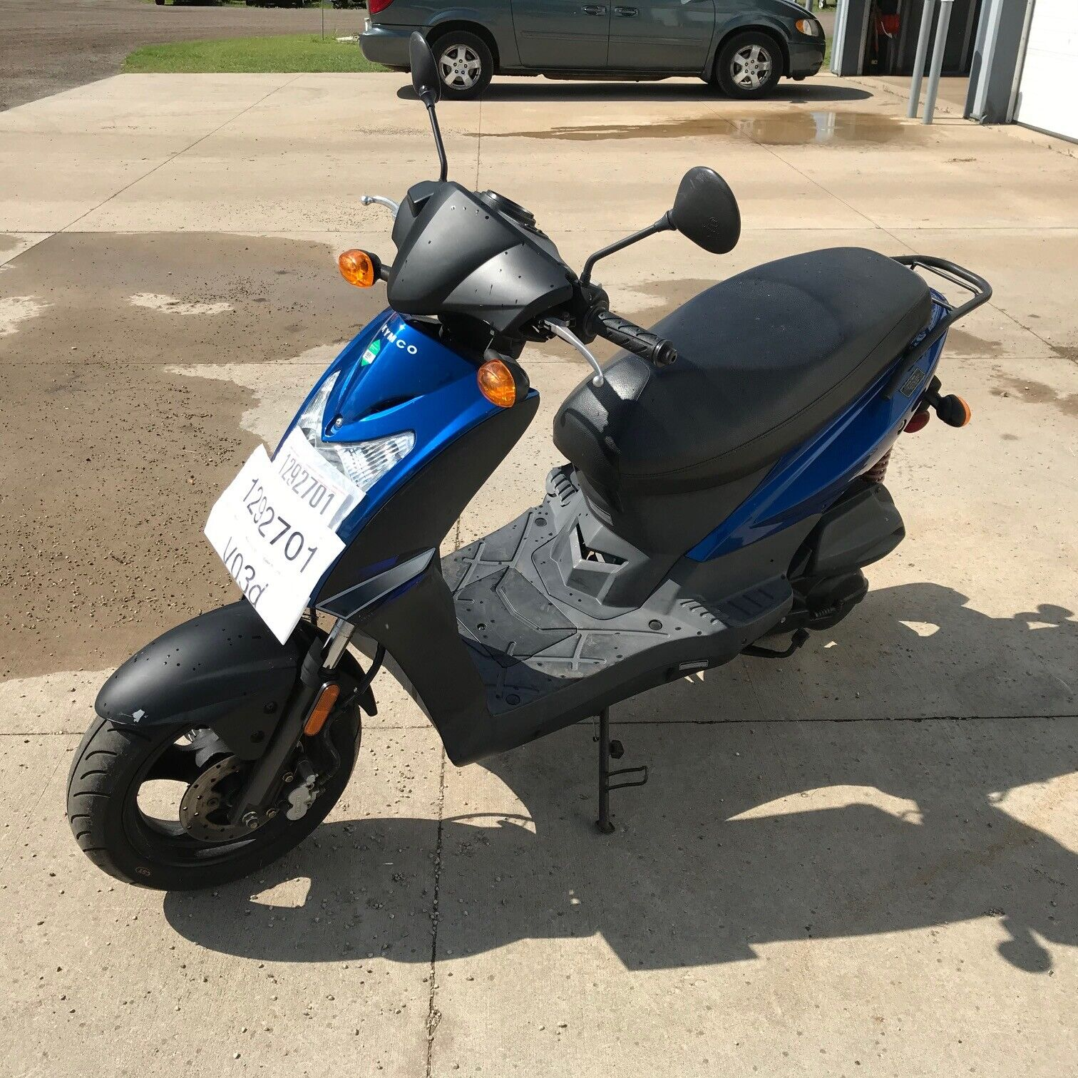 2008 Kymco  Agility 125 Moped  T1292701