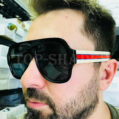 Aviator Fashion  Retro Large Big 2018 Model Men Women Eyeglasses Sunglasses (Sunglasses Models For Men)