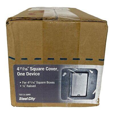 Thomas Betts 72c13 Square Box Cover Lot Of 25