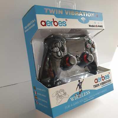 CONTROLLER PER PS4 VIBRATION 4 GAMEPAD JOYPAD WIRELESS