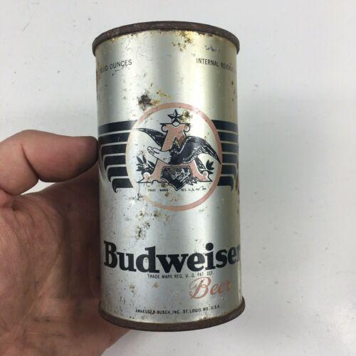 Budweiser Flat Top Vintage Beer Can
