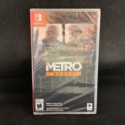 Metro Redux (Nintendo Switch) BRAND NEW / Region Free