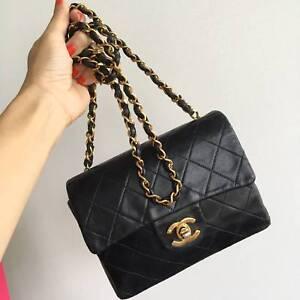 90dc3e9dcce7 Chanel Vintage classic mini square flap bag for sale | Bags ...