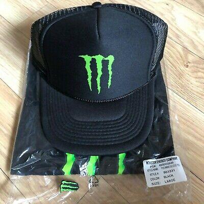(Rare) Monster Energy Athlete Only (Women Shirt, Pin & Mesh Trucker Cap) Redbull