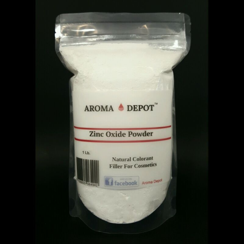 1lb / 16oz Zinc Oxide Powder NON NANO - USP - 100% Pure - Heat Sealed Resealable