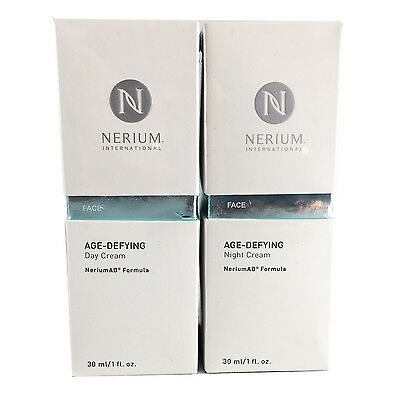 Nerium AD Age Defying Night and Day Cream Combo Pack Complete Kit +FREE SHIPPING