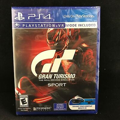 Gran Turismo Sport  Sony Playstation 4  2017  Brand New   Region Free