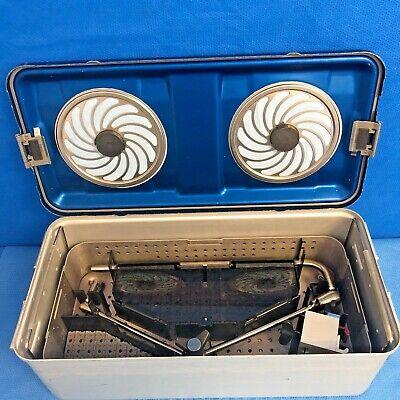 Depuy 2929-00-600 Spine Spotlight Rigid Articulating Arm Set W Table Clamp Case