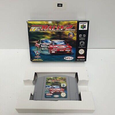 Tg Rally 2 II Top Gear Rally 2 Nintendo 64 N64 Game boxed PAL Oz48