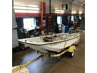 13' Boston Whaler Sport  28HP Evinrude w/ Sportsman Trailer  T1295202