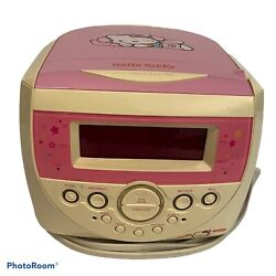 Hello Kitty Radio Clock Radio Alarm CD Player KT2053 CD Player Doesn't Work