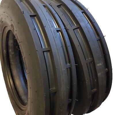 6.00-16 2 Tires Tubes 8 Ply Road Crew St1 F2 3-rib Farm Tractor 6.00x16