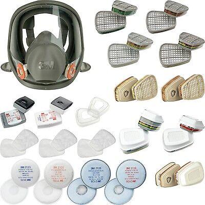 3M Vollmaske Atemschutzmaske Maske Atemschutz Gasmaske Lackiermaske Staubmaske