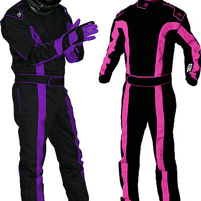 K1 - TR2 SFI-1 Auto Racing Suit - Nomex Style SFI - Girls & Womens Pink &