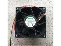 Nidec UltraFlo R40W12BS4AC-52 12V 1A Supermicro 1U Cooling FAN Lot of 3 0085L