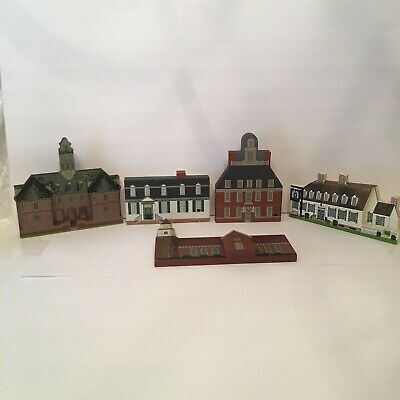 WILLIAMSBURG VA Shelf Sitters CAT'S MEOW King's Tavern Governor's Palace & MORE
