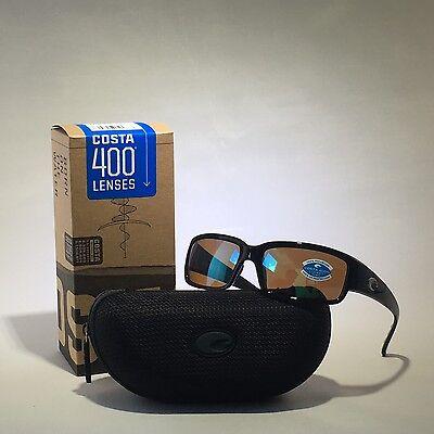 e759a31377cb7 NEW COSTA DEL MAR Sunglasses CL 11 GMGLP CABALLITO BLACK GREEN MIR 400G