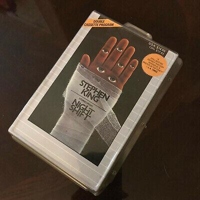 Stephen King Stories From Night Shift Double Cassette Program Horror Halloween - Programming Halloween