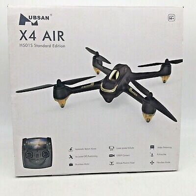 HUBSAN H501SS X4 FPV Drone GPS 5.8GHz Transmitter 1080P HD Camera Black