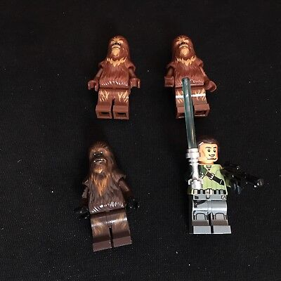 Lego Star Wars 4 x Figuren Kann Jarrus, Wookiee, Wullffwarro  Figur aus 75084 (Lego Star Wars 75084)