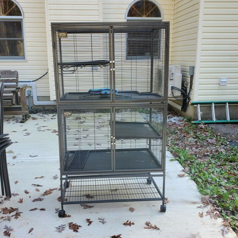 Two Tier Animal Cage