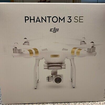 DJI Phantom 3 SE Drone 4k Video2.5 Mile Range 25 Min Flight - UNFLOWN