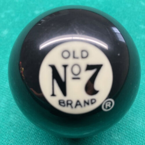 USED Jack Daniels Discontinued black pool ball - FAST Free SHIPPING!