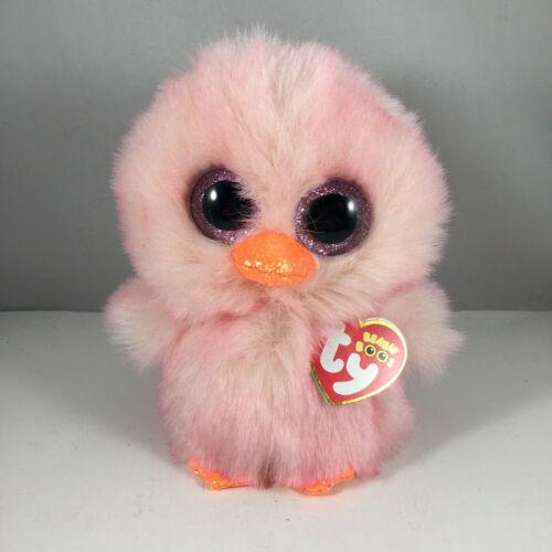 "2021 Easter TY Beanie Boos FEATHERS Chick Stuffed Animal Plush (6"" Regular) MWMT"