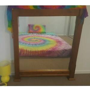 Large Timber Mirror Upper Coomera Gold Coast North Preview