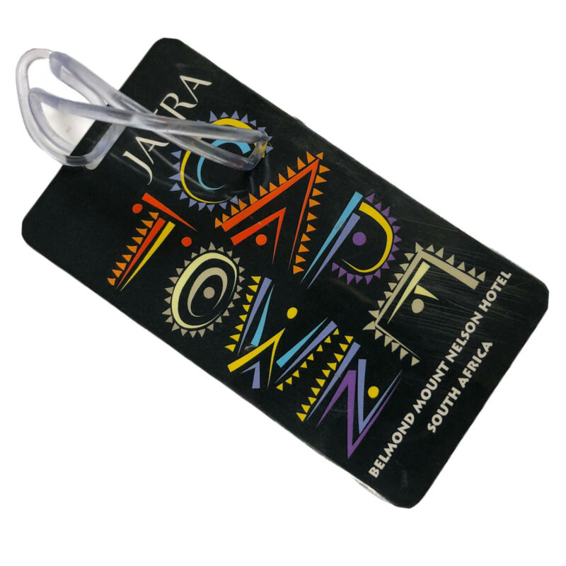 JAFRA Luggage Tag- Cape Town Africa Travel Carry On Weekender Bag Backpack Name