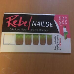 Rebel Nails futuristic graphic print nail stickers BN nail art accessories