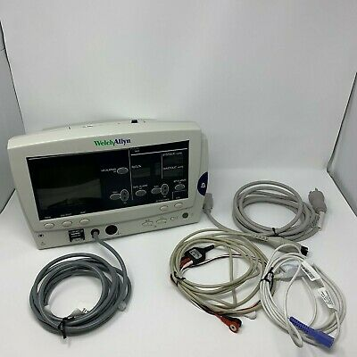 Welch Allyn 6200 Vital Signs Monitor With Printer