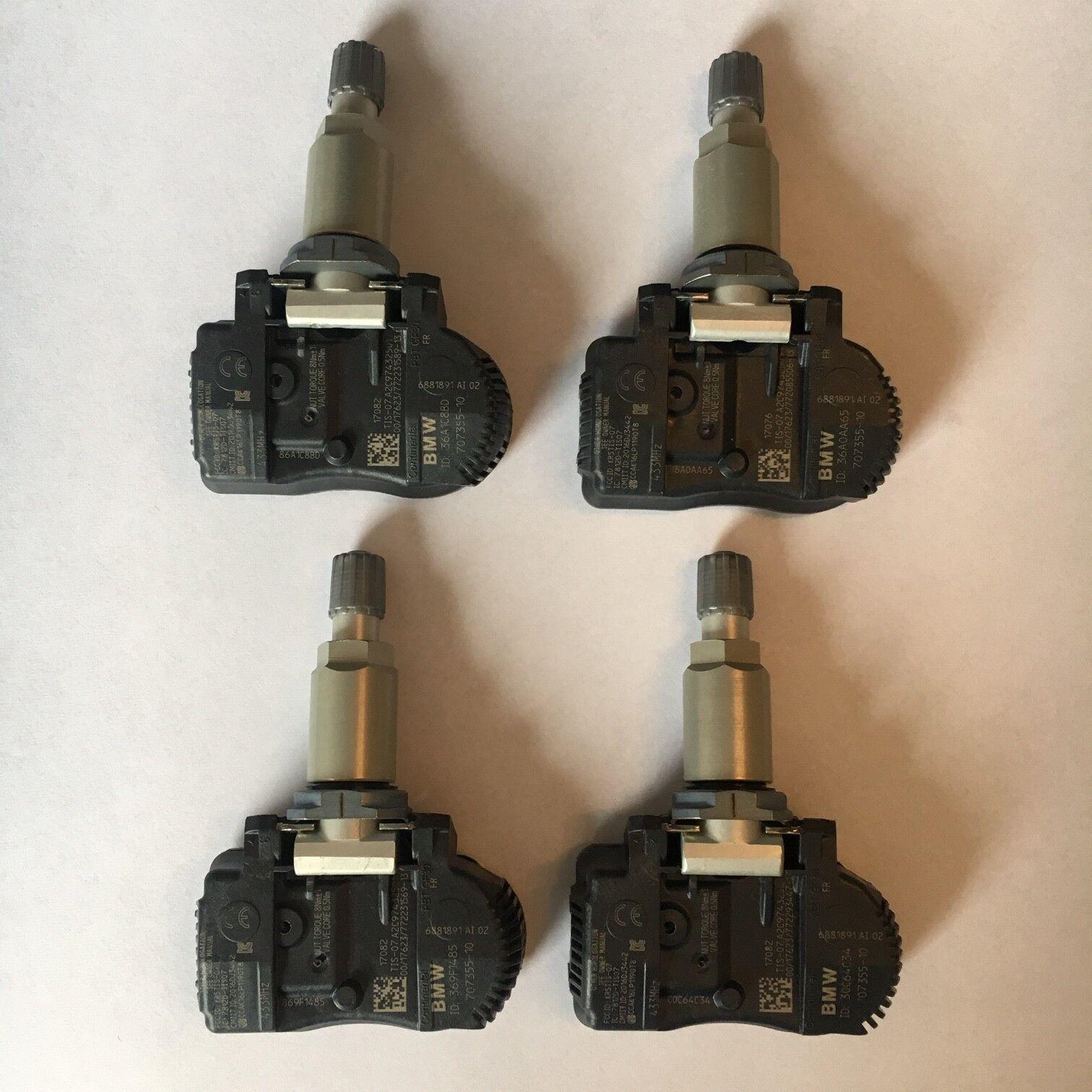 4 MINI BMW Reifendrucksensoren RDK 433 MHz Mini BMW 1er 3er 5er 6er Z4 6781847