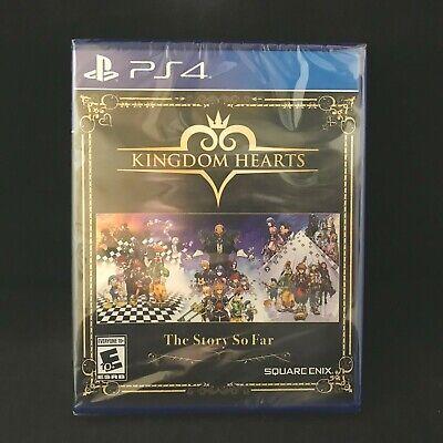 Kingdom Hearts: The Story So Far (PS4 / PlayStation 4) Brand New / Region Free