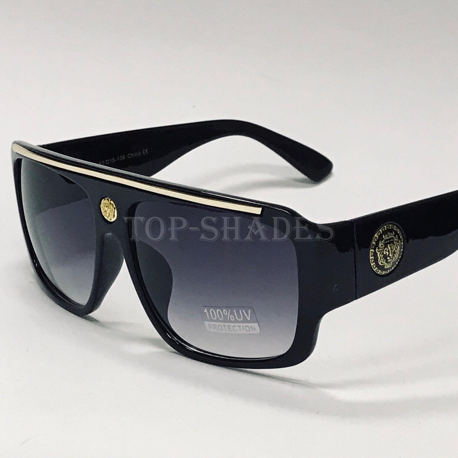 Oversize Fashion Design Men Aviator Square Sunglasses New St