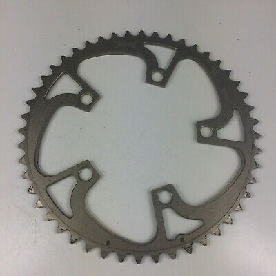 Details about  /7075 T6 alloy CNC chainring Black 39T BCD 110 For Shimano Sram FSA 5-bolt