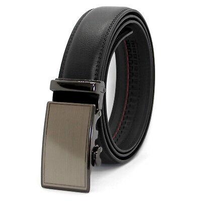 Cintura Uomo Automatica in Vera Pelle Cuoio Cinta Casual Classica Accorciabile