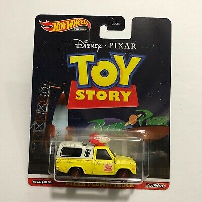 Hot Wheels Premium TOY STORY PIZZA PLANET TRUCK Metal Real Riders - $13.99