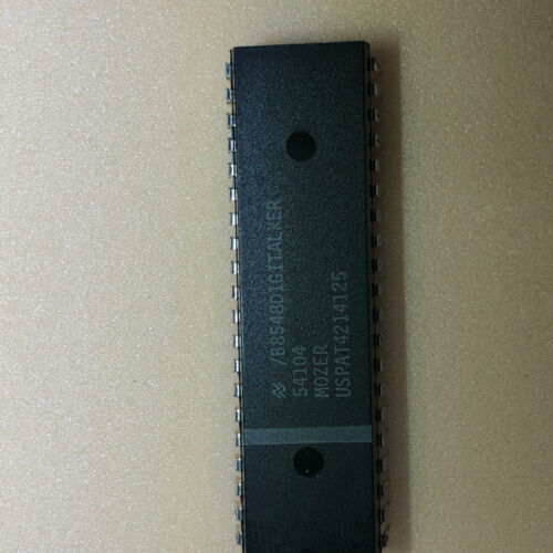 MM54104 MOZER Digitalker - NEW - National Semiconductor 40 Pin Dip ********