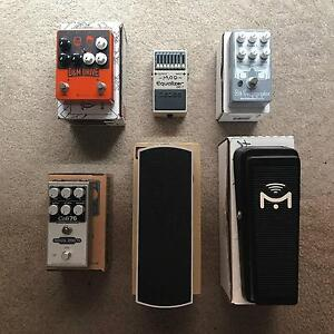Guitar Effects Pedals Clearance! Brunswick Moreland Area Preview