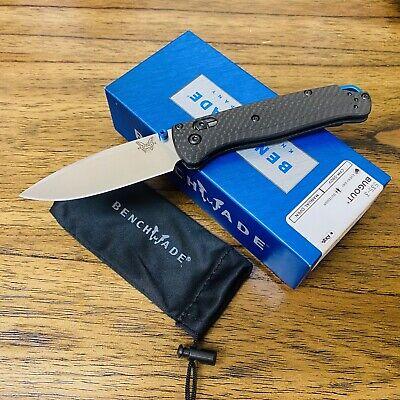 "Benchmade 535-3 Bugout AXIS Folding Knife 3.24"" S90V Satin Plain Blade BNIB"