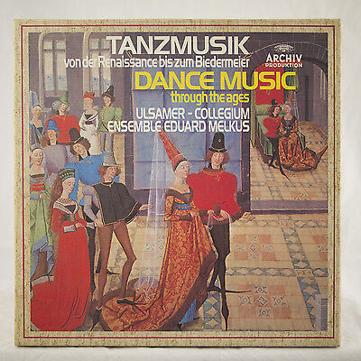 6Lp Box Dance Music Through The Ages Ulsamer Collegium Ensemble Eduard Melkus