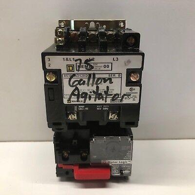 Guaranteed Square D Sz. 00 Contactor W Motor Logic Over Load 8536sao12h20s