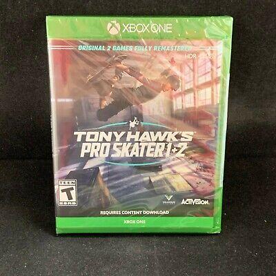Tony Hawk's Pro Skater 1+2  (Xbox One) BRAND NEW