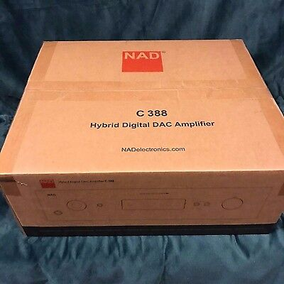 2019 NAD C388 Stereo integrated amplifier with built-in DAC and Bluetooth for sale  Shipping to Canada