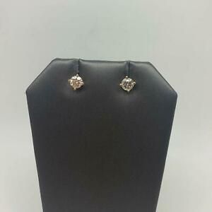 9CT YELLOW GOLD DIAMOND STUDS #204130 Morayfield Caboolture Area Preview