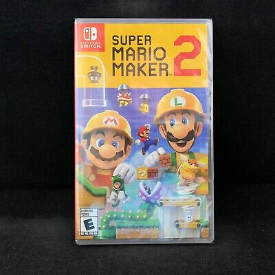 Super Mario Maker 2 (Nintendo Switch) US Version / BRAND NEW / Region Free