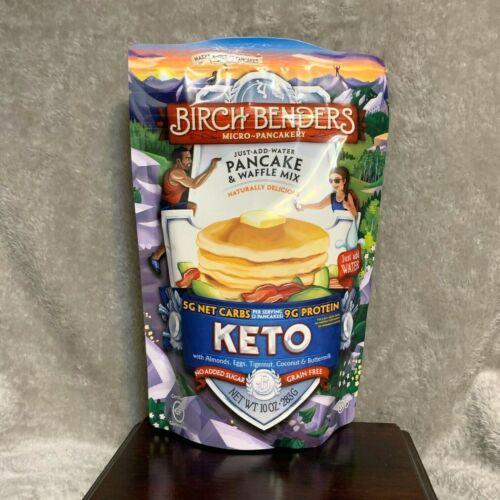 Birch Benders KETO Pancake Waffle Mix 10 ounce bag Best By July, 2022